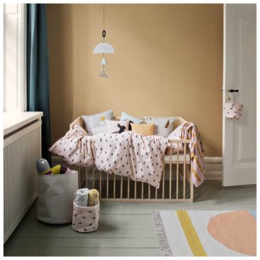 ferm living rabbit bedding baby bedovertrek
