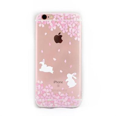 iphone cover vrolijke konijnen