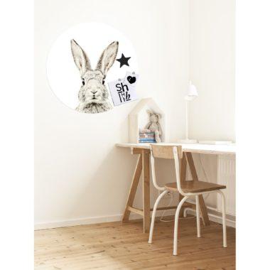 voorbeeld magneetsticker konijn