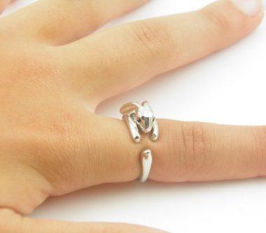 verstelbare ring konijn