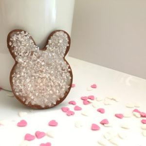 eenvoudige zandkoekjes konijnenkoekjes