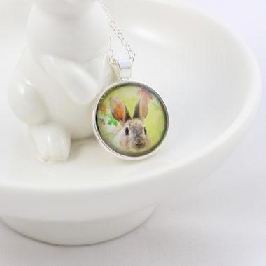 halsketting hanger konijn