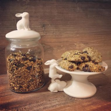 voorraadpot granola plateau
