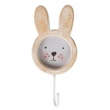 kapstokje konijn met foto houder