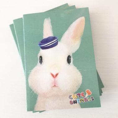 notitieboekje konijn matroos