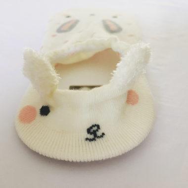 kousen met konijnenoortjes kort