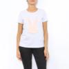 t-shirt roze konijn