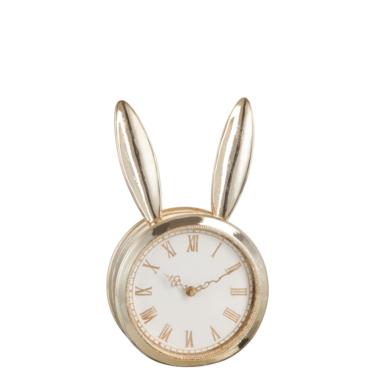 klok konijn goud