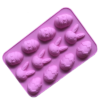 chocoladevorm voor pralines konijn en ei