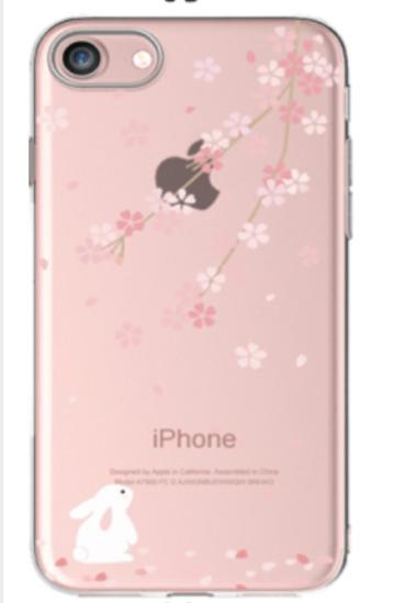 iphone-cover-konijn-bloesem