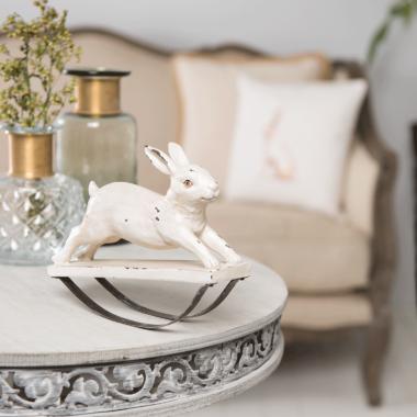 decoratie konijn rustiek