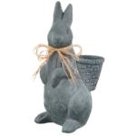 buitenbeeld konijn met mand