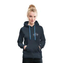 blauwe hoodie konijn bunnybeat