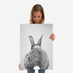 magneet poster konijn