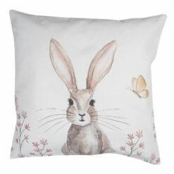 kussenhoes konijn beige
